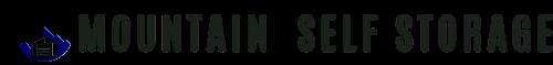 Self Storage Bozeman : Mountain Self Storage Logo